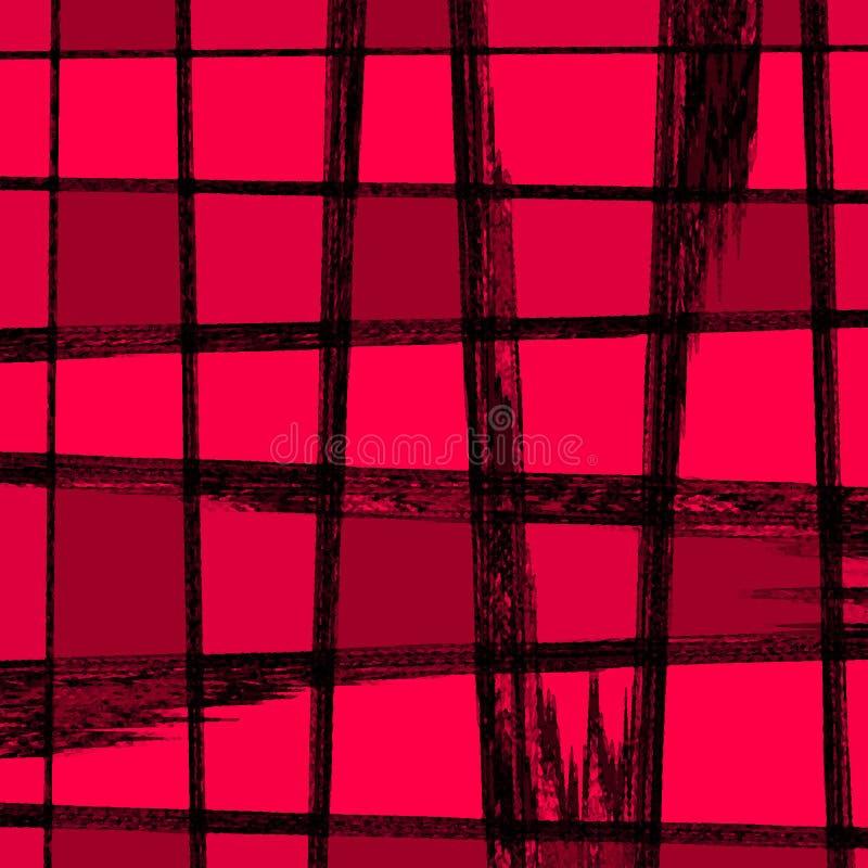 rosa ställen stock illustrationer