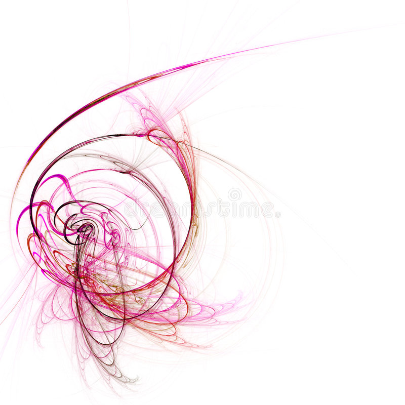 rosa stråle stock illustrationer
