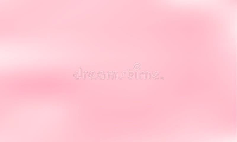 Rosa suddig bakgrund Slät lutningtexturfärg också vektor för coreldrawillustration vektor illustrationer
