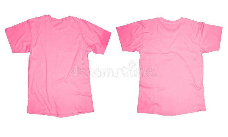 Rosa T-tröjamall royaltyfria bilder