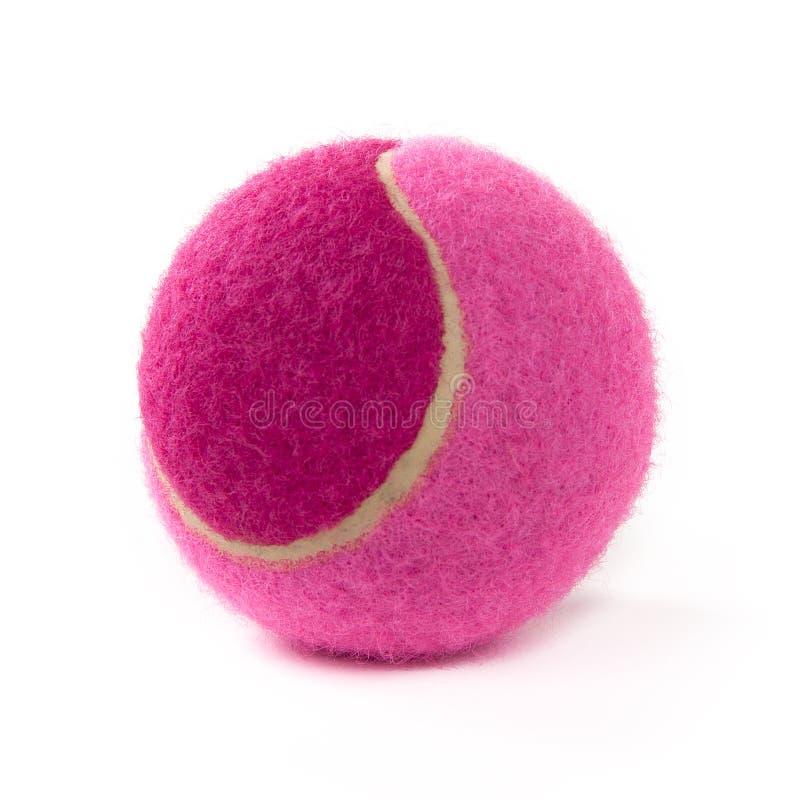 Rosa Tennisball stockbilder