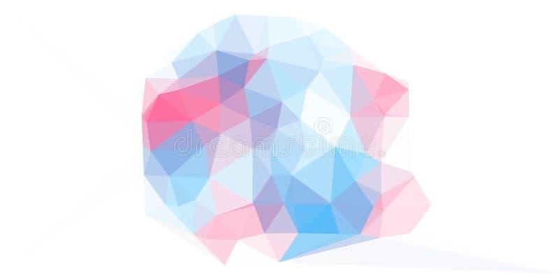 Rosa und digitale Grafik Goldwatercolour Fractal stockbilder