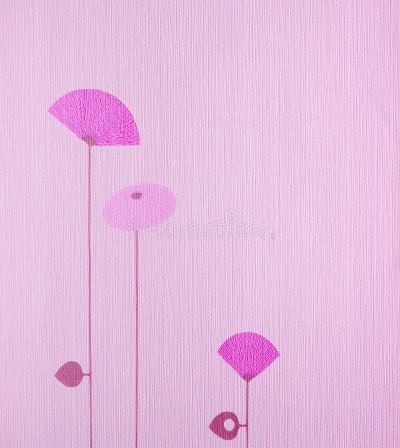 rosa wallpaper royaltyfri bild