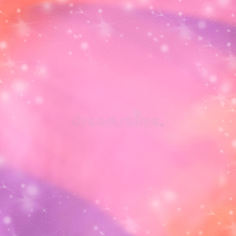 Rosa y fondo abstracto púrpura del invierno Papel pintado borroso del fondo libre illustration