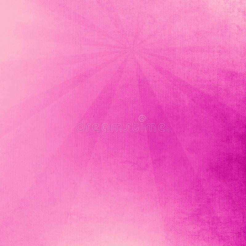 Rosa y fondo ligero m?gico del extracto p?rpura stock de ilustración