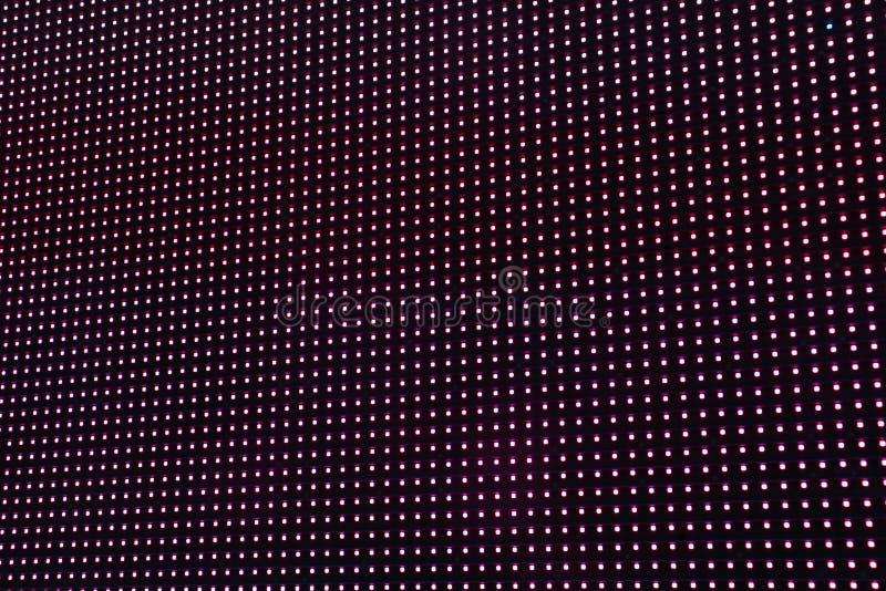 Rosa y modelo púrpura y azul de las luces LED fotografía de archivo libre de regalías