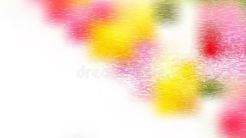 Rosa Yellow and White Metal Texture Vector Art vektor illustrationer