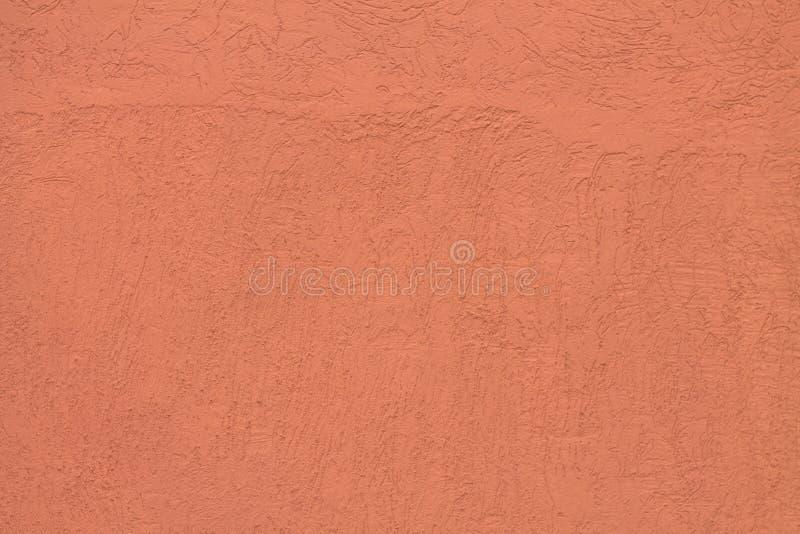 Rosa Zementwand stockfoto