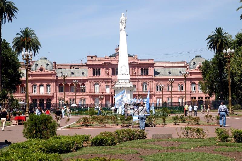rosada Кас Аргентины стоковое фото