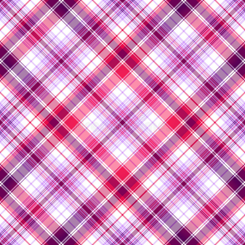 Rosafarben-violettes nahtloses Muster vektor abbildung