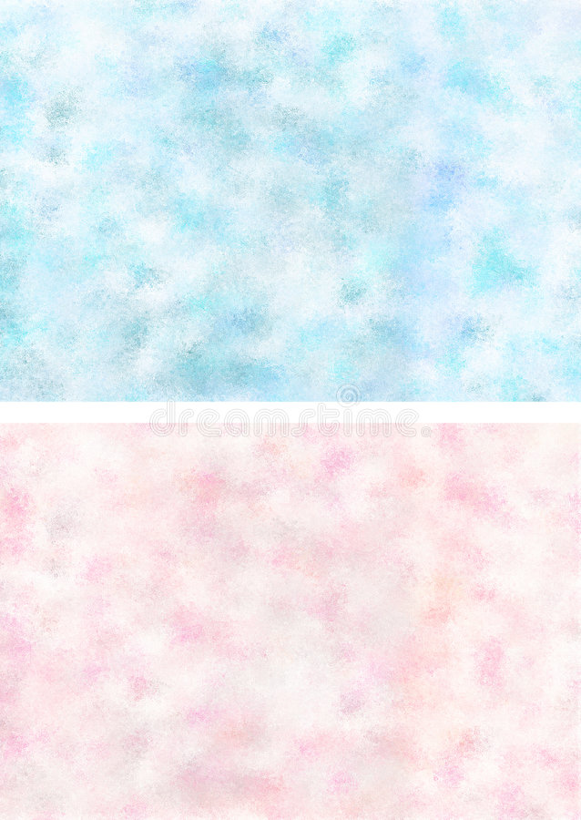 Rosafarbene blaue Beschaffenheiten lizenzfreie abbildung