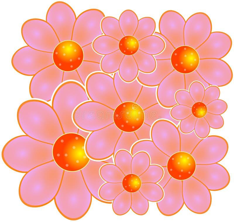 Download Rosafarbene Blumen stock abbildung. Illustration von nave - 42151