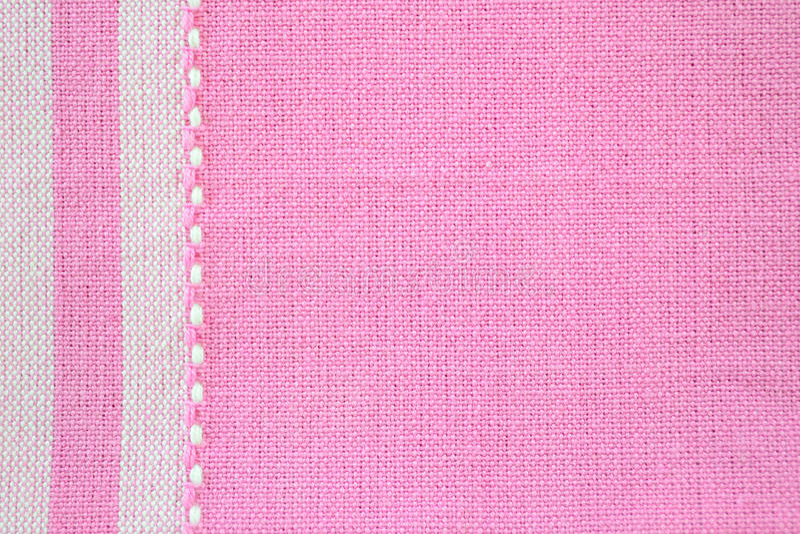Rosafarbene Gewebebeschaffenheit lizenzfreies stockbild