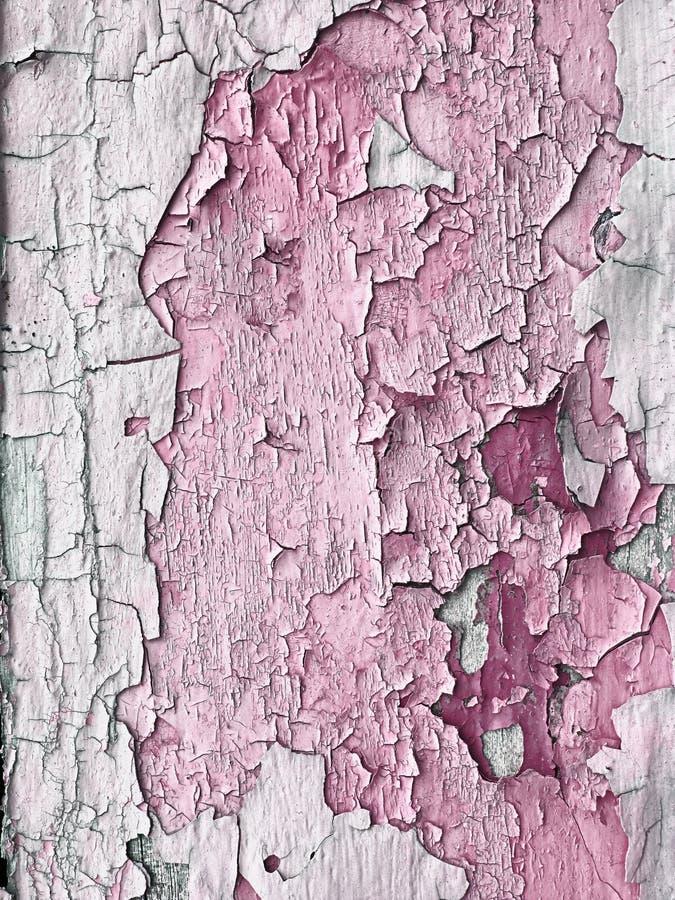 Rosafarbene grunge Planken stockfotografie