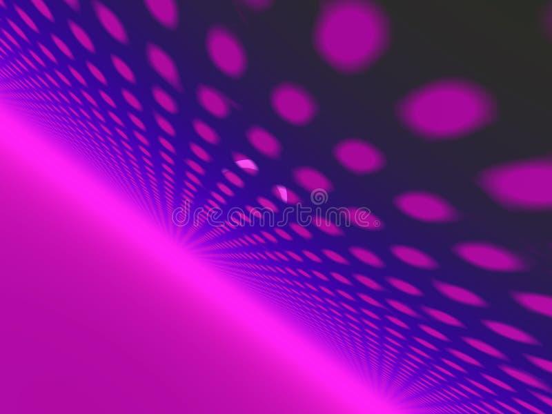 Rosafarbene Kugeln 3d vektor abbildung
