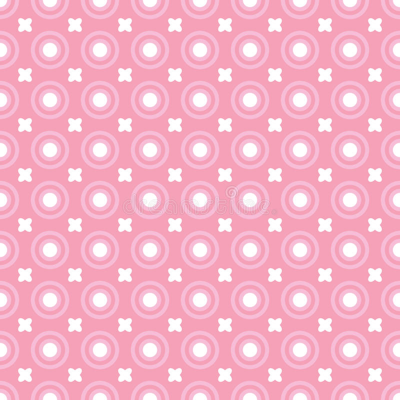 Rosafarbene Punkte lizenzfreie abbildung
