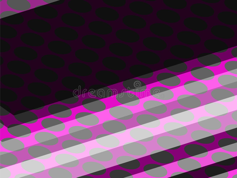 Rosafarbene Punkte und Quadrate lizenzfreie stockbilder