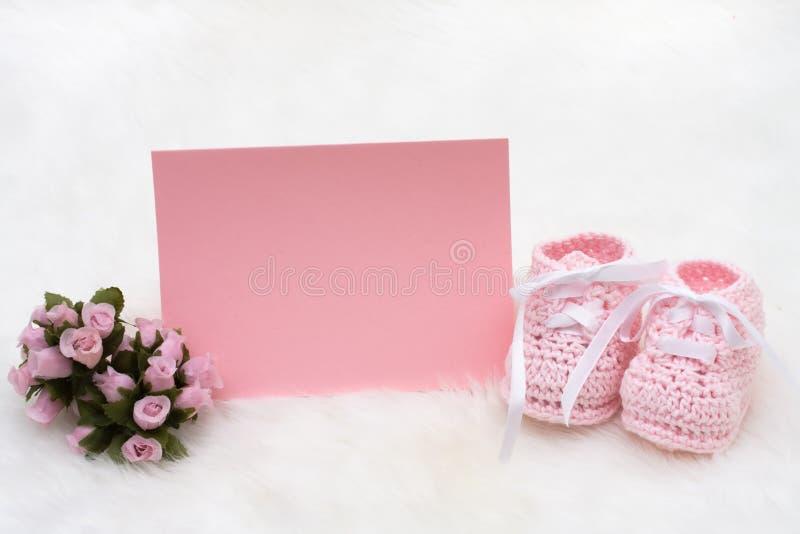 Rosafarbene Schätzchen-Beuten stockfotos