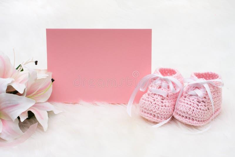 Rosafarbene Schätzchen-Beuten lizenzfreie stockfotos