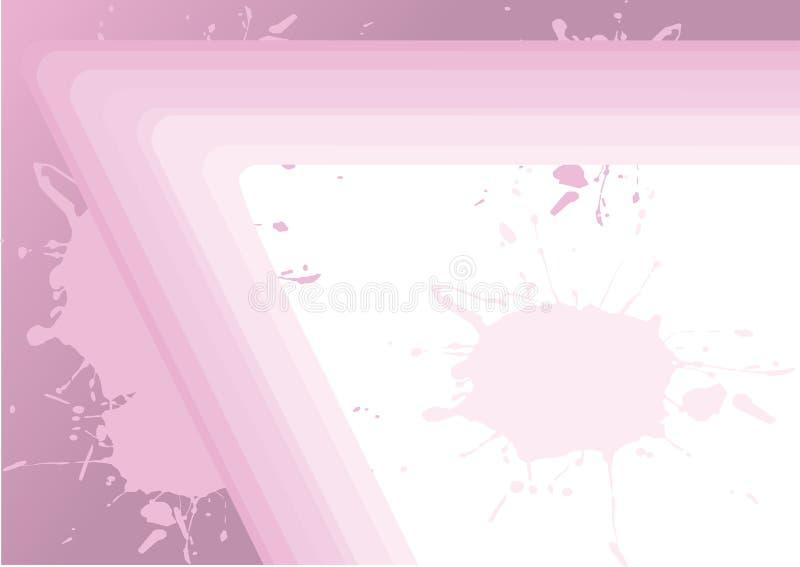 Rosafarbener abstrakter Hintergrund vektor abbildung