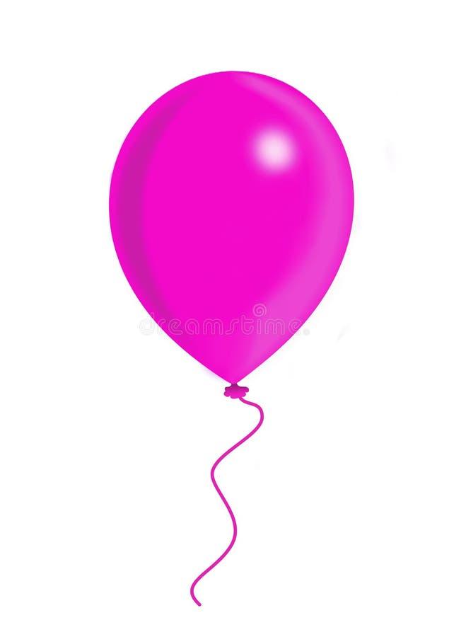 Rosafarbener Ballon vektor abbildung