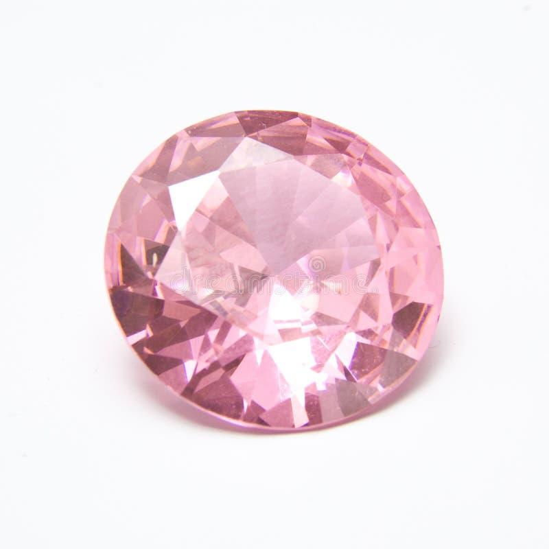 Rosafarbener Diamant lizenzfreie stockfotografie