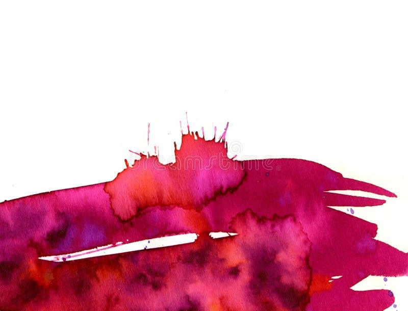 Rosafarbener Fleck lizenzfreie abbildung