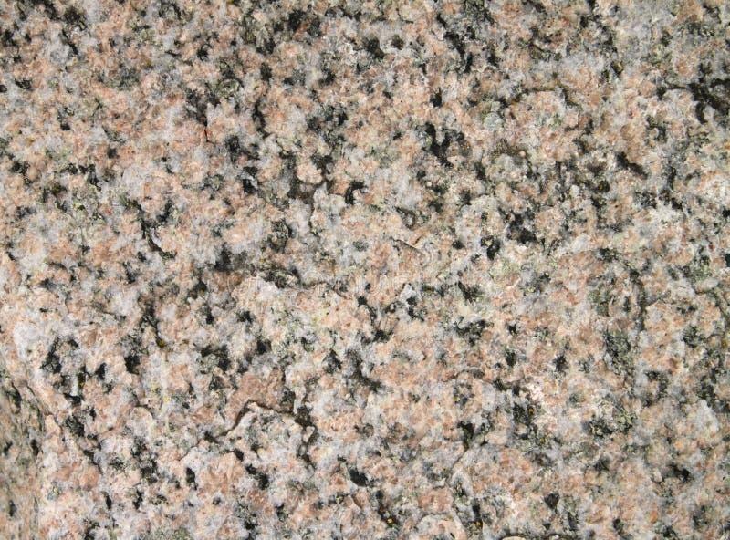 Rosafarbener Granit stockbild