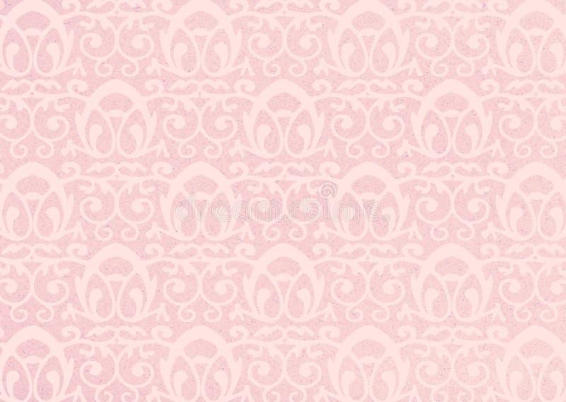 Rosafarbener Hintergrund lizenzfreie abbildung