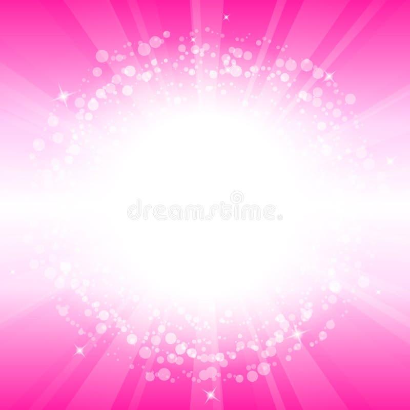 Rosafarbener Hintergrund vektor abbildung