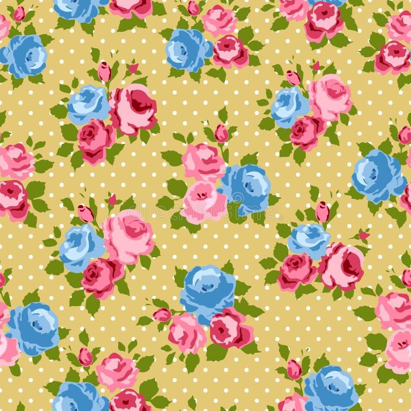 Rosafarbener Hintergrund des schäbigen Chic vektor abbildung