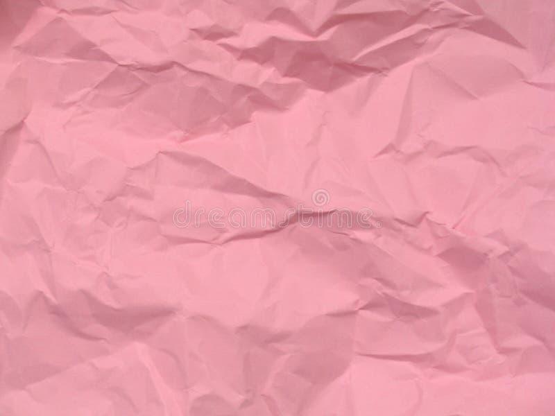 Rosafarbener Papierbeschaffenheits-Hintergrund lizenzfreies stockfoto