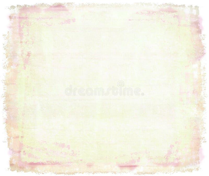 Rosafarbenes Aquarell auf Segeltuch lizenzfreie stockfotos