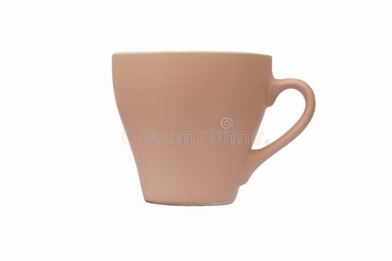 Rosafarbenes Cup stockbilder