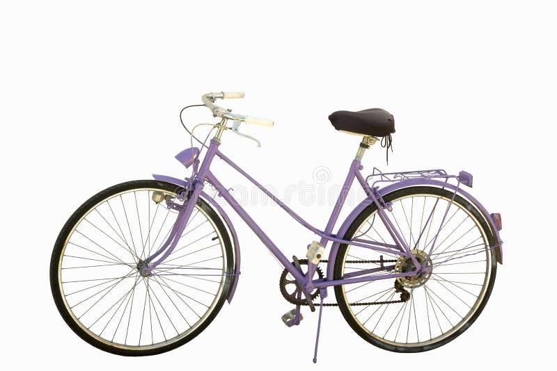 Rosafarbenes Fahrrad lizenzfreies stockbild