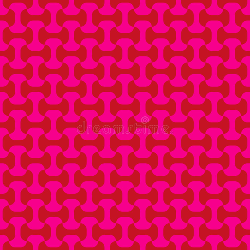 Rosafarbenes nahtloses Muster stock abbildung