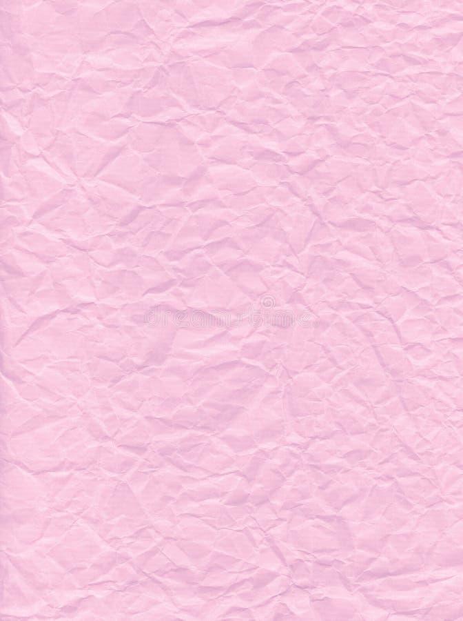 Rosafarbenes Papier stockfotografie