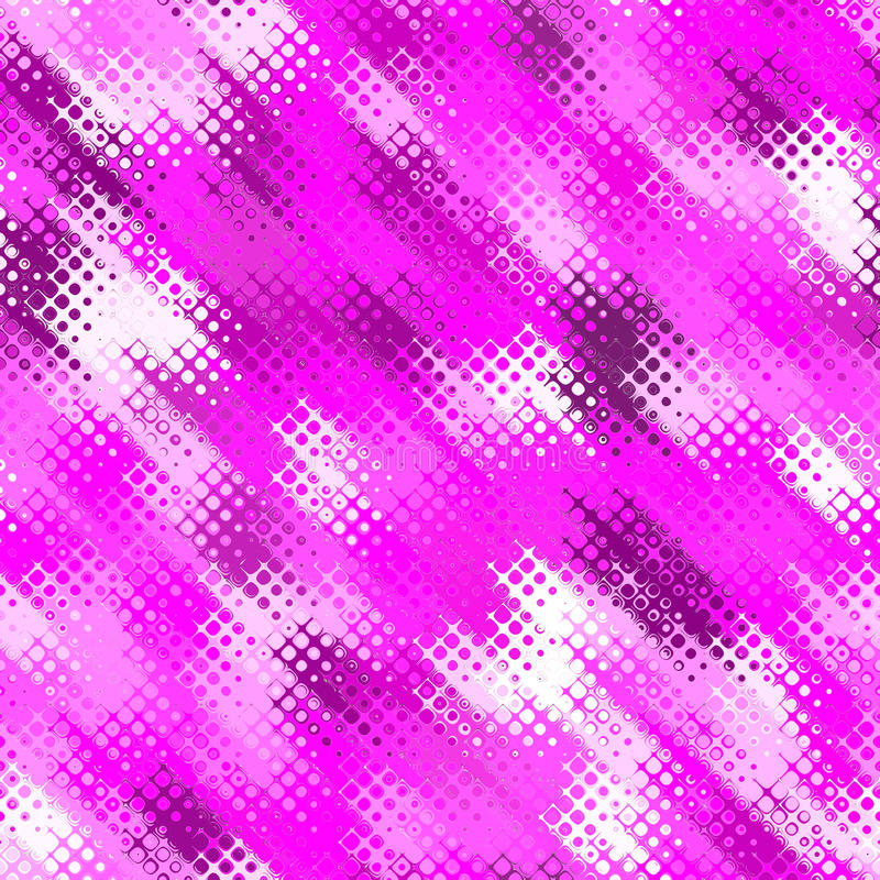 rosafarbenes Retro- Halbtonbild lizenzfreie abbildung