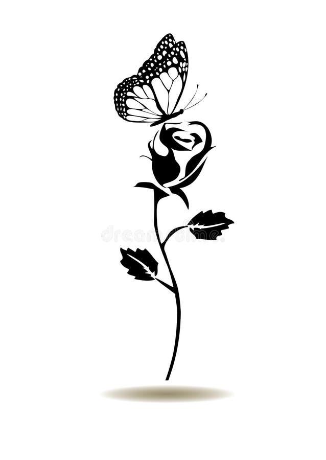 Rosafarbenes Schattenbild des Vektors vektor abbildung