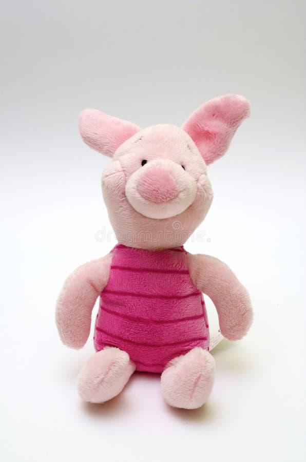 Rosafarbenes Schwein stockfoto