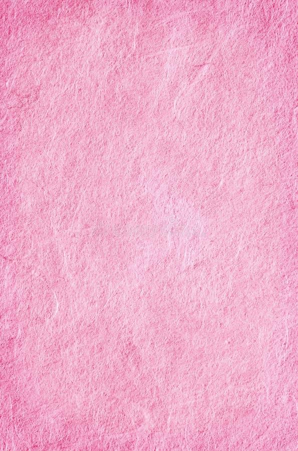Rosafarbenes strukturiertes Papier stockfoto