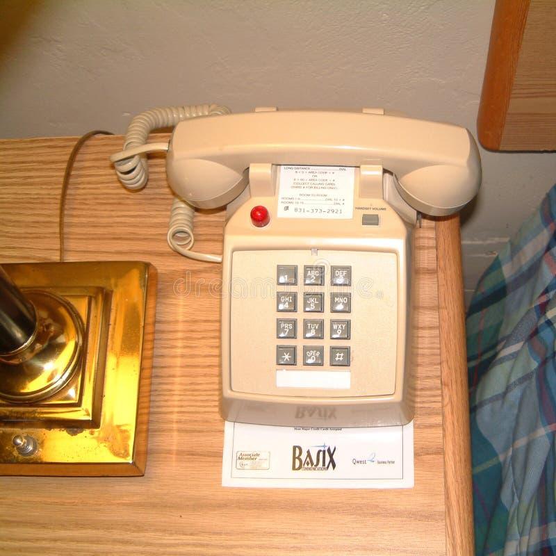 Rosafarbenes Telefon stockbilder
