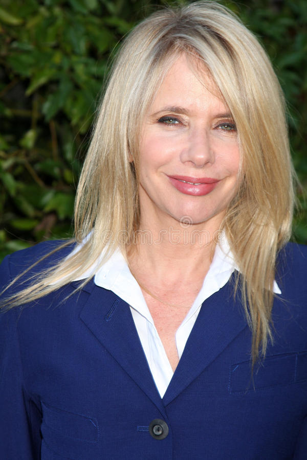 Rosanna Arquette. LOS ANGELES - JUN 23: Rosanna Arquette arriving at the 2011 Saturn Awards at Castaways on June 23, 2011 in Burbank, CA stock images