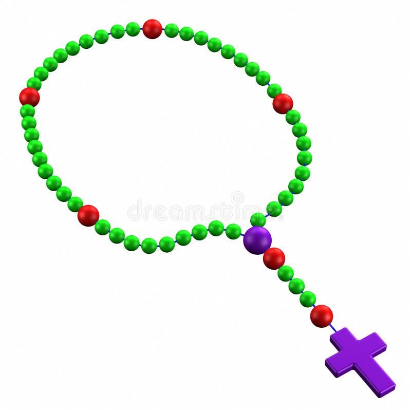 rosario ilustración del vector