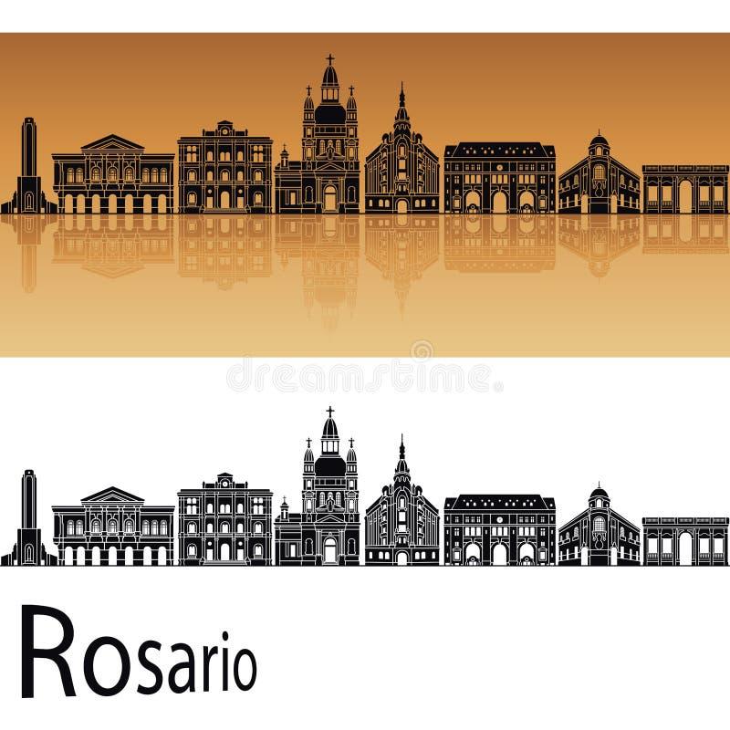 Rosario horisont vektor illustrationer