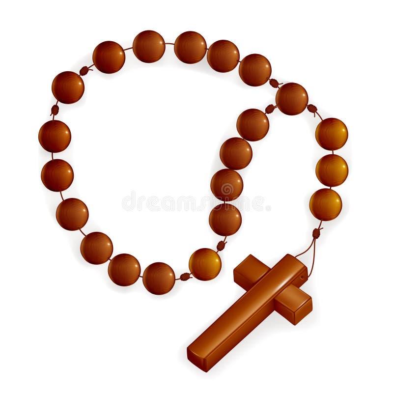 Rosario y cruz libre illustration