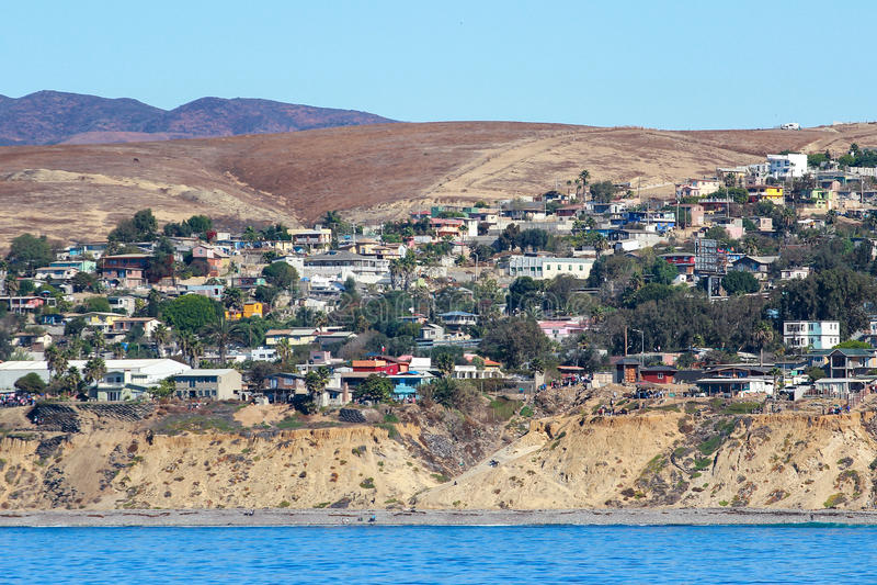 Rosarito Baja California royaltyfri fotografi
