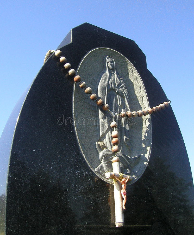 Download Rosary stock image. Image of death, headstone, cemetery - 11535