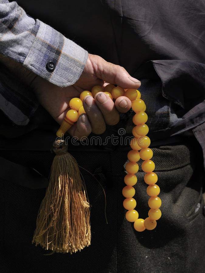 Download Rosary stock image. Image of detail, faith, muslim, peaceful - 12372963