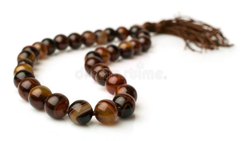 Download Rosary of carnelian stock image. Image of praying, white - 36174457